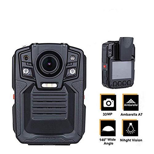 JFW-HD 1296P Mini Camcorder 33MP Sicherheit Polizei Körper Kamera Nachtsicht Videorecorder Mit IR Externe Linse - Polizei-videorecorder