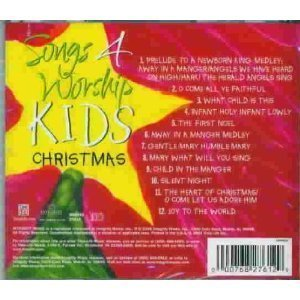 Songs 4 for worship Kids Christmas by Integrity Music (Worship-kids 4 Songs)