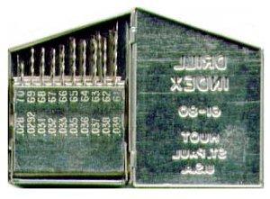 HANSON HAN80183 20 PIEZAS JUEGO DE BROCAS DE ALAMBRE ESTADOUNIDENSE NUMERO
