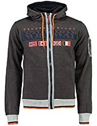 Geographical Norway - Sweat-shirt - À Capuche - Manches Longues - Homme