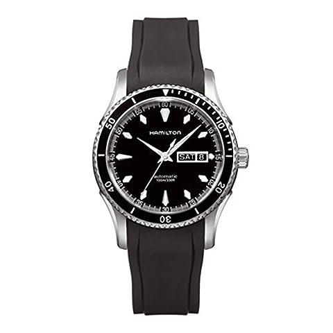 Hamilton Herren-Armbanduhr XL Chronograph Quarz Leder H37565331 - Hamilton Da Polso Al Quarzo