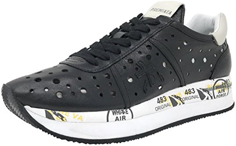 PREMIATA Conny V-2965, Zapatillas Deportivas Para Mujer, Negro
