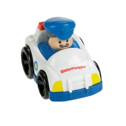 Image of Fisher Price Toy - Little People Wheelies - all About Racing - Set of 4 Vehicles - Cars