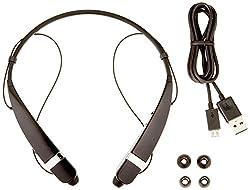 LG Electronics Tone Pro Bluetooth Headset - Retail Packaging - Black