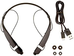 LG Electronics Tone Pro Bluetooth Headset - Retail Packaging - Black