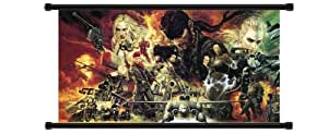 Metal Gear Solid 3 Snake Eater Game Fabric Wall Scroll Poster (32 x 18) Inches