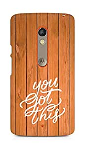 AMEZ you got this Back Cover For Motorola Moto X Play
