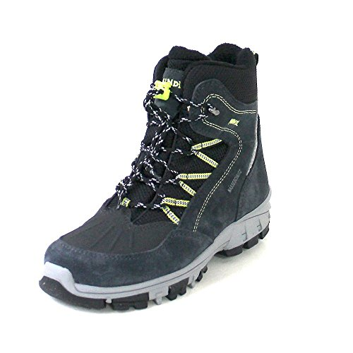 Meindl Kinder Winterstiefel Outdoorschuhe Boots INUIT JUNIOR lemon-anthrazit Anthrazit (lemon/anthrazit)