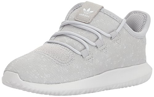 adidas Originals Boys' Tubular Shadow I Sneaker, Grey Two/Crystal White/Crystal White, 5 Medium US Toddler