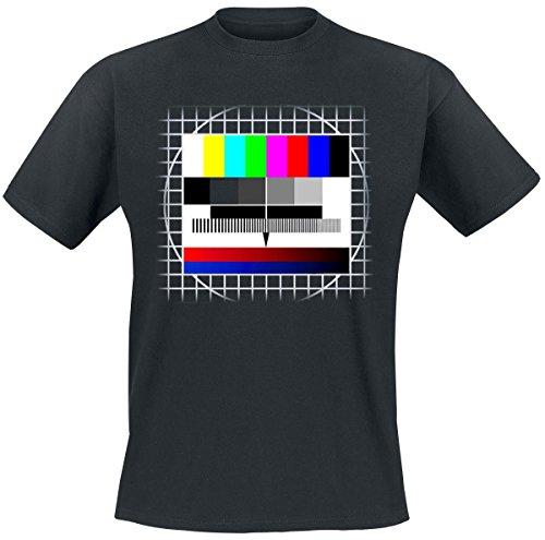Sfondo Test TV T-Shirt nero M