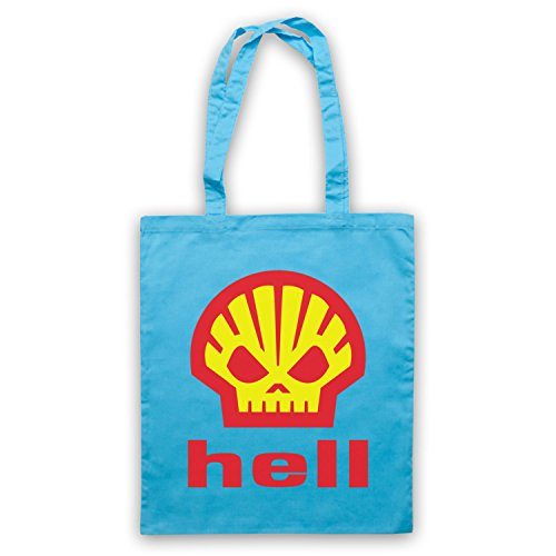 Inspire par Shell Hell As Worn By Heath Ledger Officieux Sac d'emballage Bleu Clair