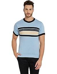 Globus Blue Striped Men's T-shirt