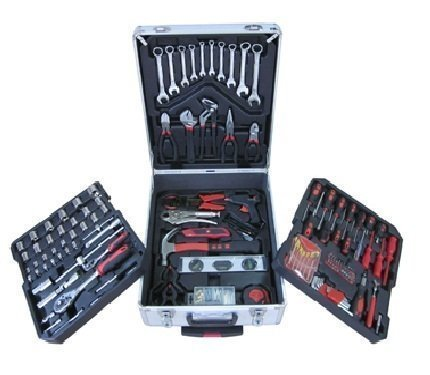 188 TLG. Werkzeugkoffer Alu Trolley Werkzeug