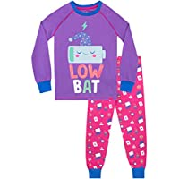 Harry Bear Girls Recharging Pyjamas Snuggle Fit