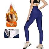 YUCEN Gewichtsverlust Hosen Sauna Hosen, Womens abnehmen Hosen Hot Thermo Neopren Sweat Sauna Womens abnehmen Hosen Hot Thermo Neopren Sweat Sauna (L)