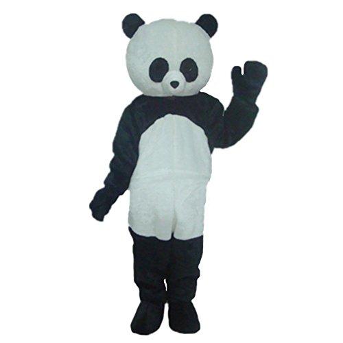 Kostüm kleiner Panda, Maskottchen-Kostüm, Cartoon-Kostüm, Halloween-Kostüm, für Party, für Erwachsene