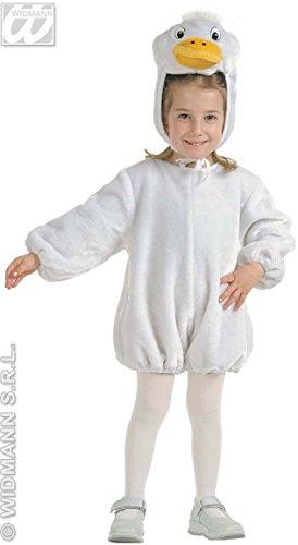 Kostüm Gans Kind - Kinder-Kostüm-Set Kleine Plüsch-Gans, Größe 110
