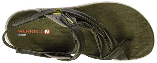 Merrell Damen Vesper Convertible Sandalen Grün (Dusty Olive)