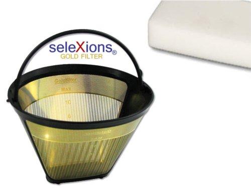 Set Goldfilter SeleXions GF4S 1x4 6-12 Tassen & Radierschwamm/Zauberschwamm