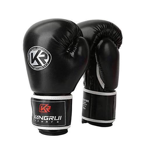 LHQING Boxhandschuhe Best Durable Boxhandschuhe PU-Lederhandschuhe für Kampfsportarten, MMA, Sanda und Boxhandschuhe von Taekwondo für optimale Stoßdämpfung