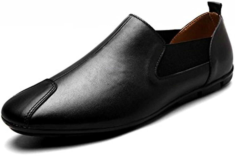 Zapatos de Hombre Cuero Primavera/Verano Comodidad/Casual Mocasines y Slip-Ons Transpirable/Trend Zapatos de Conducción  -