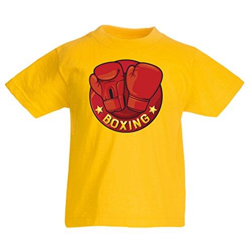 Lepni.me Camiseta para Niño/Niña Boxeo - MMA