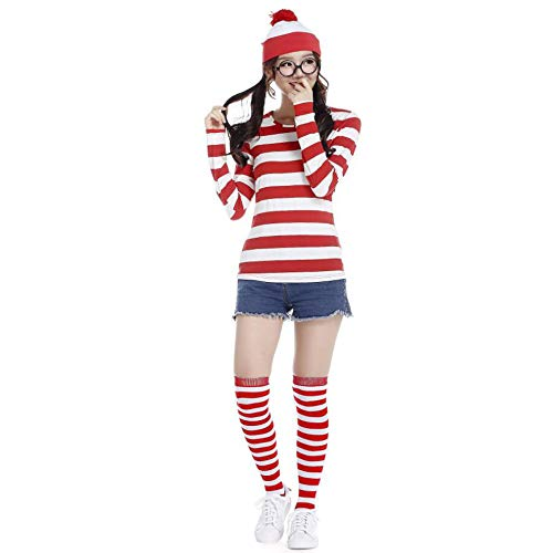 WEGCJU Smart Warri Cosplay Kleidung Anime Charakter Cosplay Kostüm Halloween Männer Und Frauen Tragen Diffuse Kleidung,Red-S (Für Frauen Charakter-kostüme)
