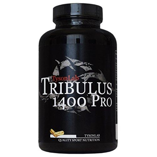 Tribulus 1400 Pro mit 85% Saponine, Zink, Vitamin C 1200mg reines Tribulus pro Kapseln (150Kapseln)