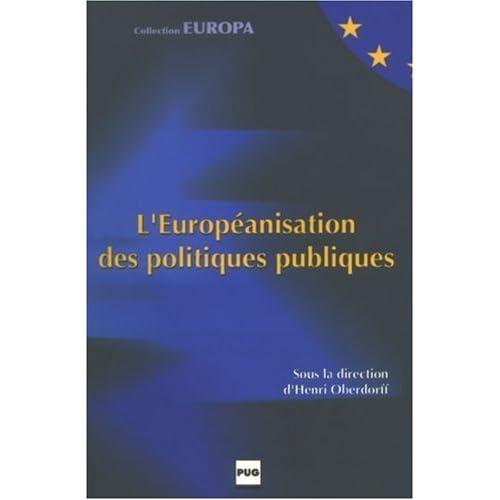 L'Européanisation des politiques publiques