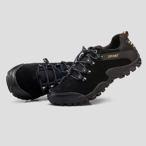 ... Suetar Sneakers Outdoor in Pelle Scamosciata Primavera ed Estate Scarpe  da Trekking da Uomo Alla Moda ... 1fcd40e1ffa