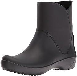 Crocs RainFloe Women Boot in Black