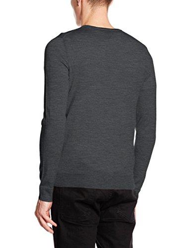 Jack & Jones Premium Jprmark Knit Crew Neck Noos, Pull Homme Vert (Balsam Green)