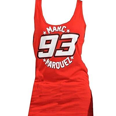 Marc Marquez 93 Moto GP Damen Weste-Trägershirt Red Official 2016