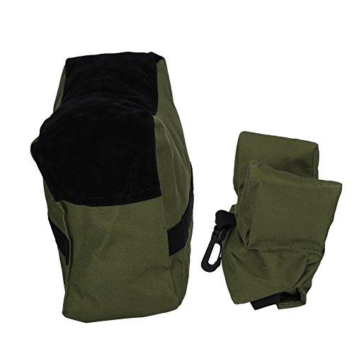 Zetiling Outdoor Shooting Rest Bag, Soft Durable mit Klettverschluss Design Tragbare Zieltasche zum Schießen und Jagen(# 1) -