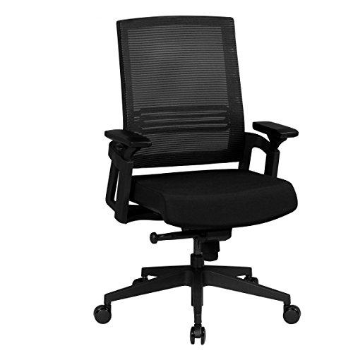 amstyle b rostuhl apollo a2 stoffbezug schreibtischstuhl h henverstellbar ergonomisch armlehne. Black Bedroom Furniture Sets. Home Design Ideas