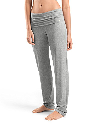Hanro Yoga Hose, Pantalones Deportivos para Mujer, Grau (Grit Melange 1148) 46