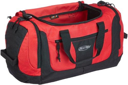 Bestway Sport und Reisetasche, rot, 56 x 23 x 24 cm, 30 liters, 40128-0200 rot