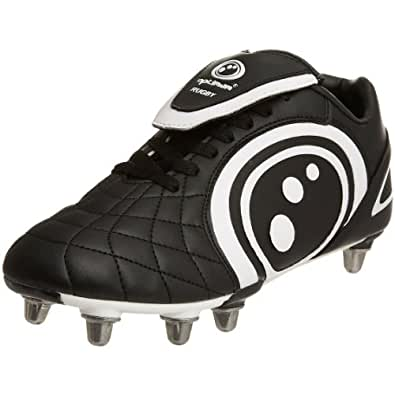 Optimum Men's Eclipse Black/White Rugby Boot RBECNS7 7 UK
