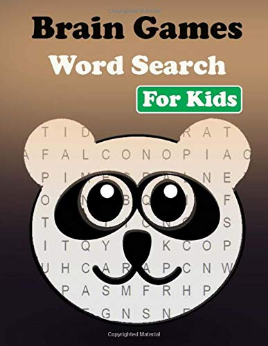 Brain Games Word Search For Kids: Hours of brain-boosting entertainment for adults and kids por Hanna Laura