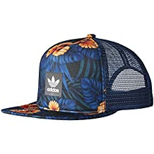 adidas Floral Trucker Gorra, Hombre, Multicolore-(Multco), FR : M (Taille Fabricant : M)