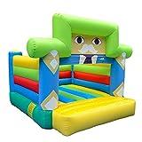 Daxiong Aufblasbare Trampolin Kinder Schloss Home Naughty Castle Indoor-und Outdoor-Springen...