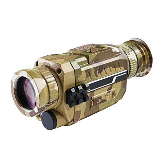 RLF LF Nachtsichtgeräte Monokulare, 5X35 HD Digitales Nachtsichtgerät, Nacht Infrarot Monokular Teleskop Kamera Video Für Die Jagd Geeignet Patrouille Ferngläser,B