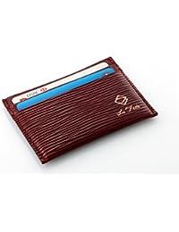 La Fede's Aqua Series Card Holder - Top Grain Luxury Slim Leather Card Wallet - Credit Card & Debit Card & Business...