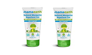 Mamaearth Natural Mosquito Repellent Gel, 50ml (Pack of 2)