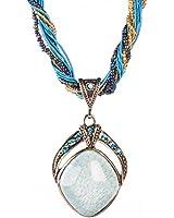 Rhombus Statement Necklace, Fashion Jewellery, Vintage Style Handmade Jewellery