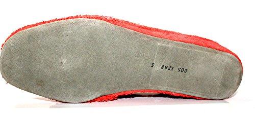 Fortuna 467072-02 Damen Hausschuhe Pantoffel Rot
