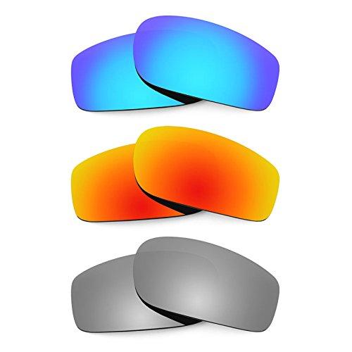 Revant Ersatzlinsen für Von Zipper Sham Polarisiert 3 Paar Kombipack K014