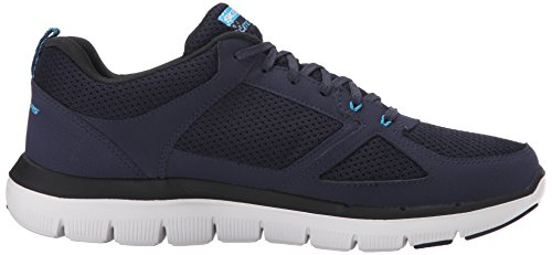 Skechers Flex Advantage 2.0, Chaussures Multisport Outdoor Homme Bleu (Nvbl)