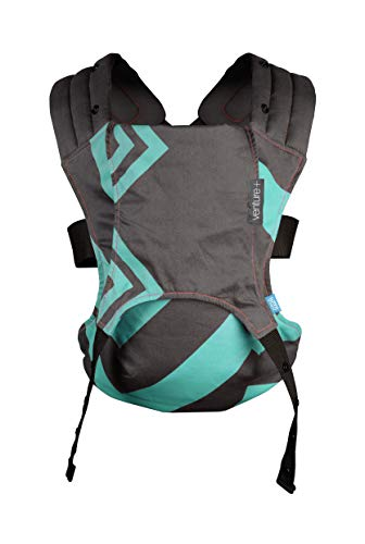 We Made Me 20117-GL-03 Venture+ 2 in 1 From 18 months - Mint Charcoal Zigzag, mehrfarbig -