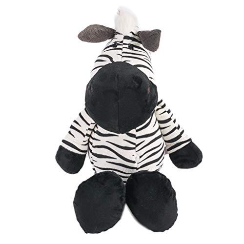 Egosy Zebra Tier Puppen Cartoon Plüsch Spielzeug Kinder Weichen PP Baumwolle Kinder Als Geburtstag Weihnachten Geschenk (Zebra-plüsch-spielzeug)
